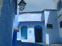 Chefchaouen - the blue town in Morroco