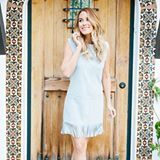 seriously swooning over this photo of @laurenconrad wearing a suede fringe dress… such a beauty! {sign up for @liketoknow.it then like this photo to get an email to shop similar dresses to the one above}  @liketoknow.it www.liketk.it/2mbWw #liketkit