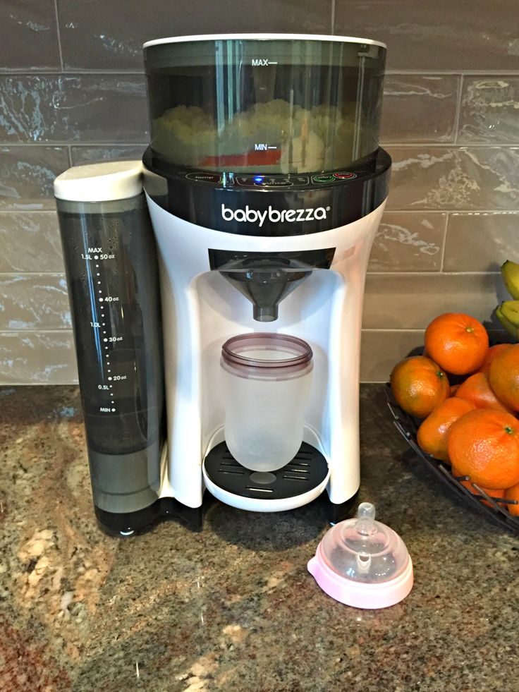 We test-drove the @babybrezza Formula Pro - see what we thought about this baby barista machine! #babygear