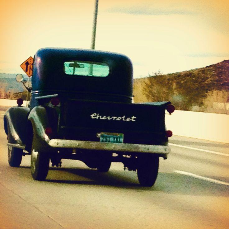 Old pickup truck. Nevada.