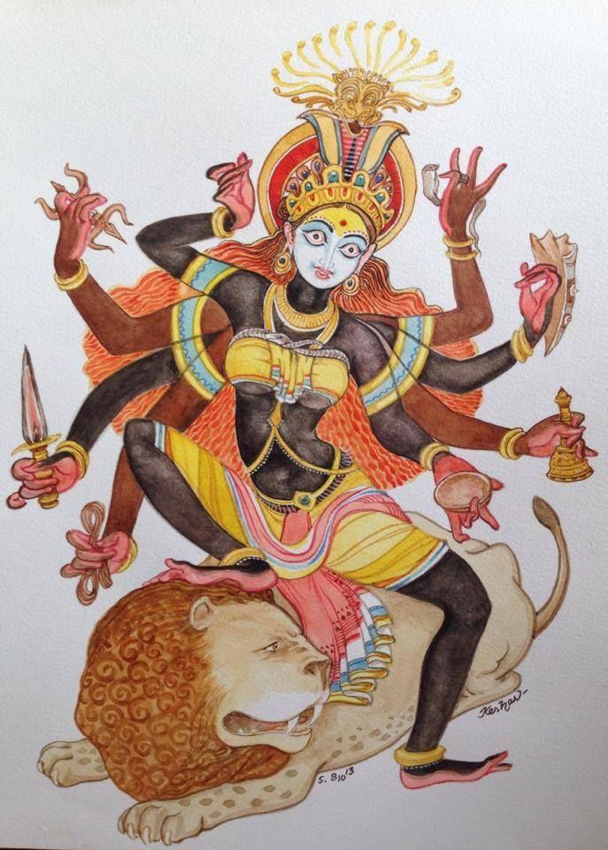 Mahalaya 05. Devi series.