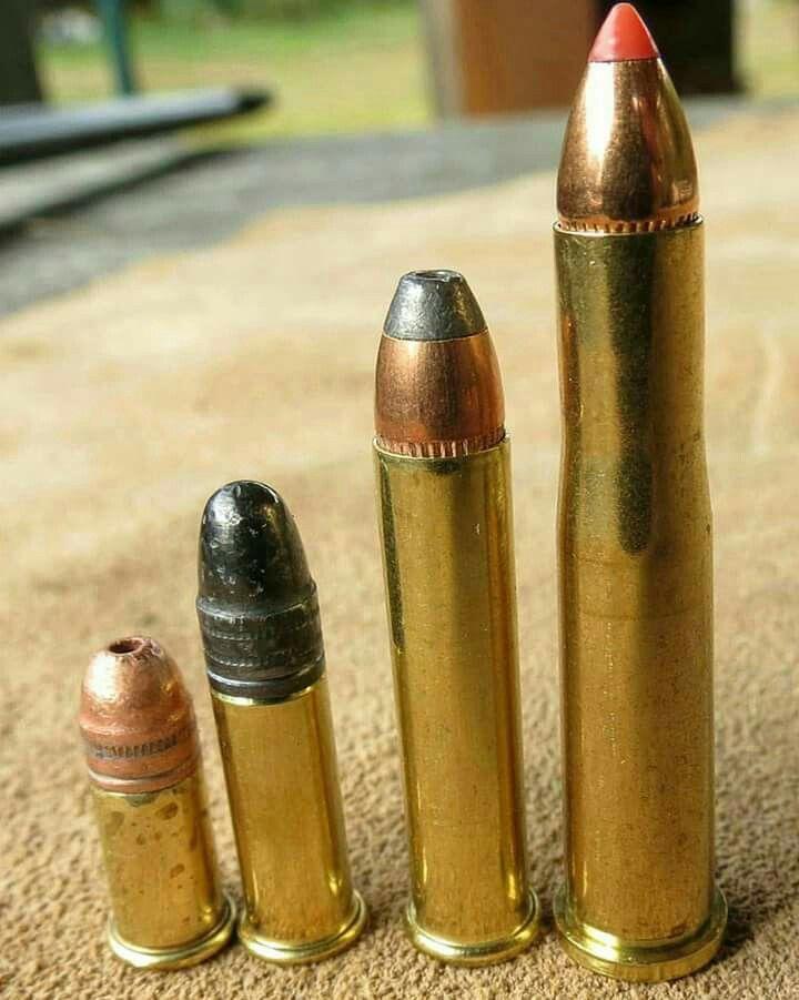 Família .22: .22 Short, .22 Long Rifle, .22 Magnum e .22 Hornet