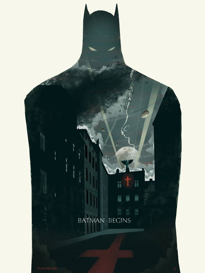 Batman Begins by Michael Rogers do this for Ross