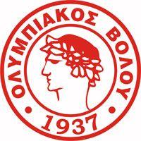 1937, Olympiacos Volou 1937 F.C. (Volos, Greece) #OlympiacosVolou1937FC #Volos #Greece (L12201)
