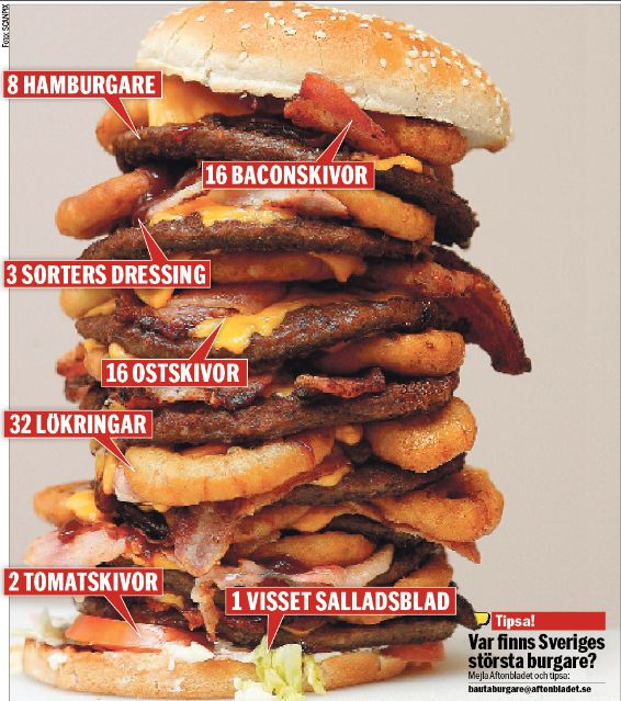 world's biggest burger - http://johnrieber.com/2014/09/01/its-national-bacon-day-2014-the-worlds-tastiest-holiday-great-bacon-recipes/