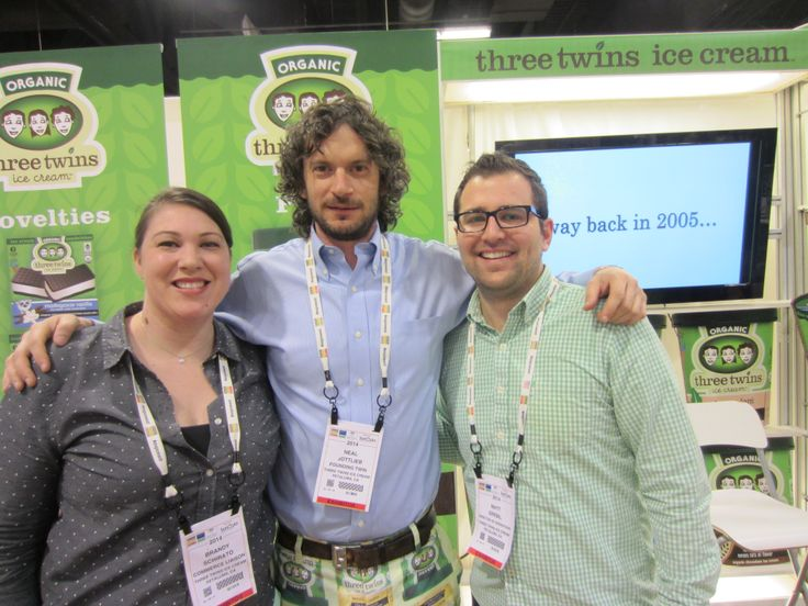 Have you tried Three Twins Ice Cream yet? Organic, natural and delicious! Natural Products Expo West