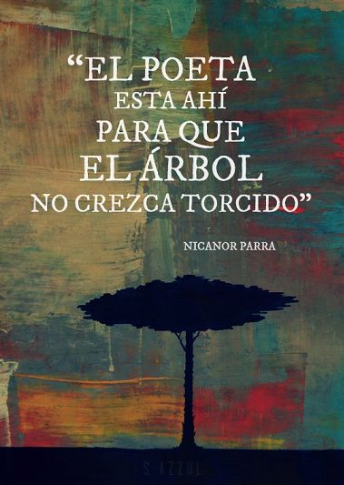 Nicanor Parra. (S Azzul)