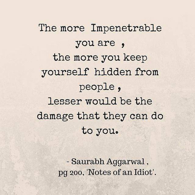 """Words from the  Book -""""Notes of an Idiot"""" by Saurabh Aggarwal"""