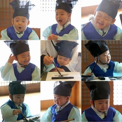 Minguk's cuteness overload!