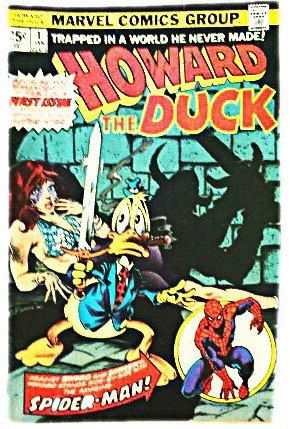 Howard the Duck Vintage Comic Book 1st Issue, 1975  Marvel Comics Group  Condition: Im not a comic collector or grader, I am a fan and reader. I know this comic has moderate wear from age but I think its in overall good condition. The binding is in tact, All the pages are complete and they are clear & colorful.  PLEASE NOTE: I combine shipping on all sales. If you are ordering multiple items, please add them to your cart and pay for them all at once. Once I pack up your item(s), you will ...
