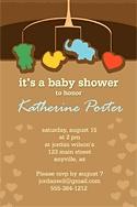 mobile baby shower invite