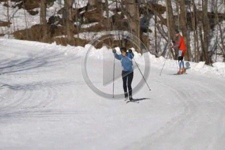 Video - škola běžeckého lyžování: Nácvik bruslení - 1. díl