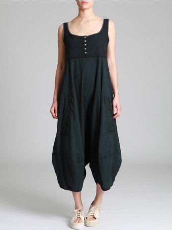 COMBINED JUMPSUIT WITH RUSTIC TOP AND LIGHT PANTS - JACKETS, JUMPSUITS, DRESSES, TROUSERS, SKIRTS, JERSEY, KNITWEAR, ACCESORIES - Woman -
