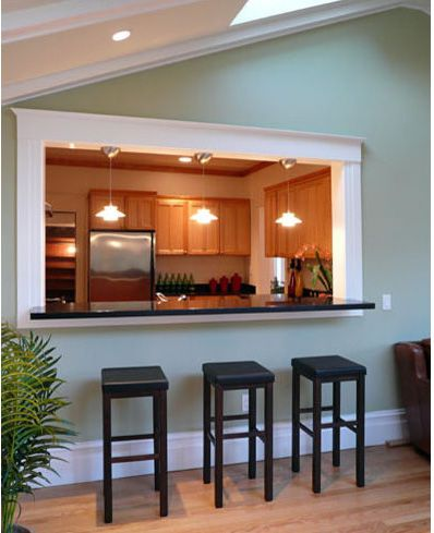 pass through kitchen counter | ... to Open up Your Kitchen | My Ez Kitchen RemodelMy Ez Kitchen Remodel