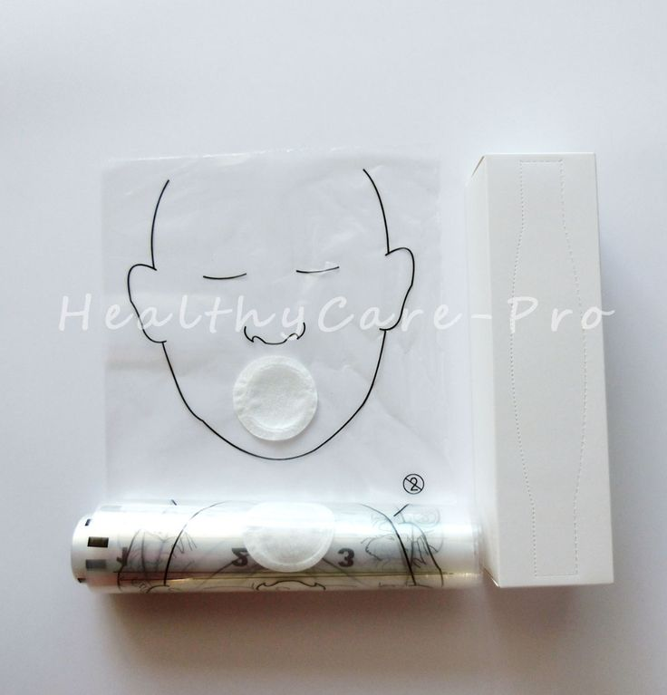 5 rolls/Pack 36pcs/roll CPR MASK CPR face shield roll Disposable for cpr training