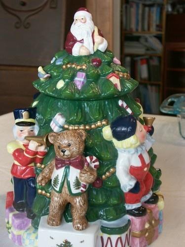 56 best ♥ Christmas Tree Cookie Jars ♥ images on Pinterest ...