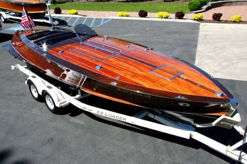 Spectacular Wooden Boat