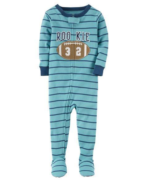 1-Piece Rookie Snug Fit Cotton PJs