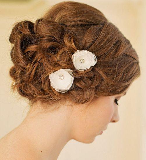 Bridal Hair Flower / Bridal Hairpiece / Wedding