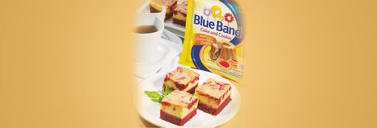 Red Marble Cheese Cake