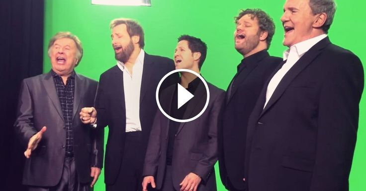 Five Men Sing Our National Anthem Like You've Never Heard it Before