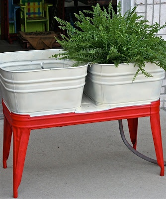 77 best wash tubs images on pinterest garden deco wash tubs and