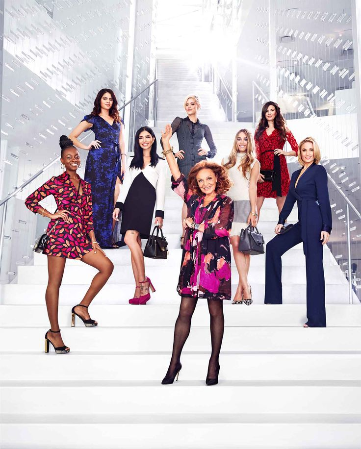 Diane von Furstenberg and the cast of House of DVF Season 2 inside the DVF Studio. Learn more: http://on.dvf.com/1FfVrtA #HouseofDVF: