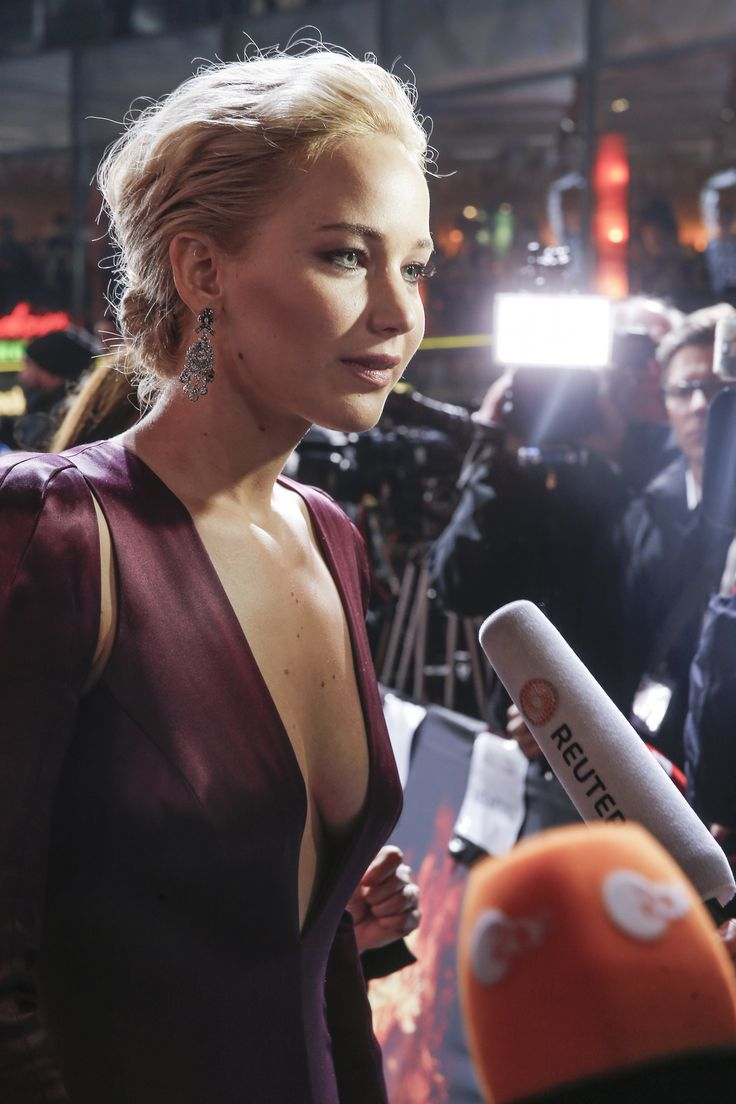 The Girl on Fire #JenniferLawrence at 'The Hunger Games: Mockingjay - Part 2' World Premiere.