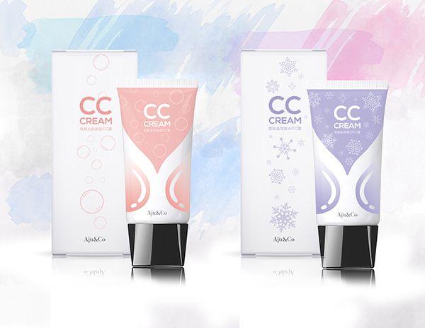 CC Cream Packaging Design on Behance
