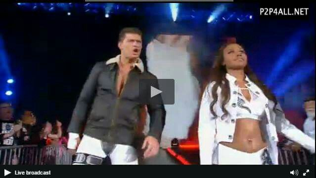 Cody Rhodes and wife