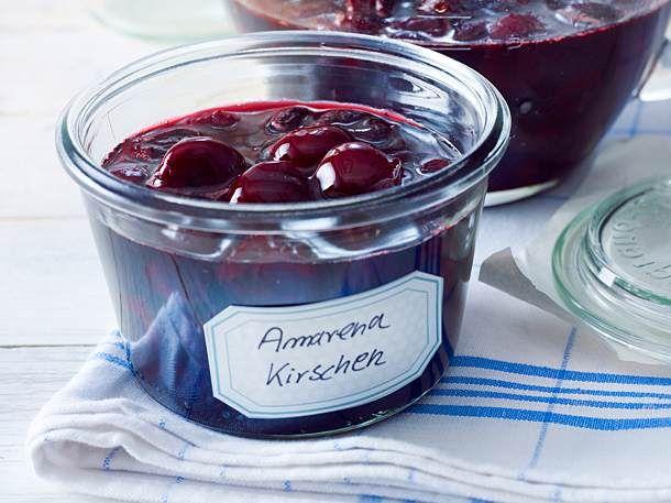 Amarenakirschen Rezept | LECKER
