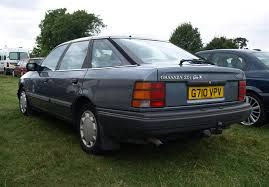 Ford Granada GHIA MK3 - Man this car was awesome! plenty room power, comfort etc. 2.5 Ltr great!