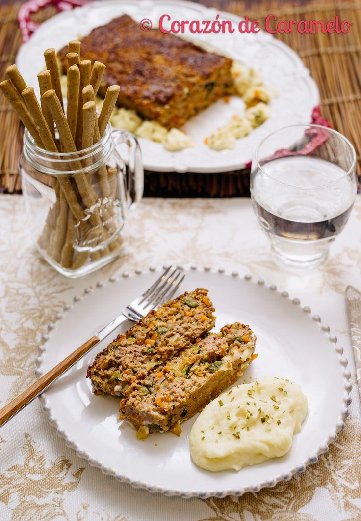 https://flic.kr/p/DXkjgp | Pastel de carne con verduras | Blog Corazón de Caramelo www.corazondecaramelo.es