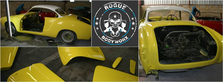 Karmann-Ghia-Progress-Collage www.roguebodyworx.com