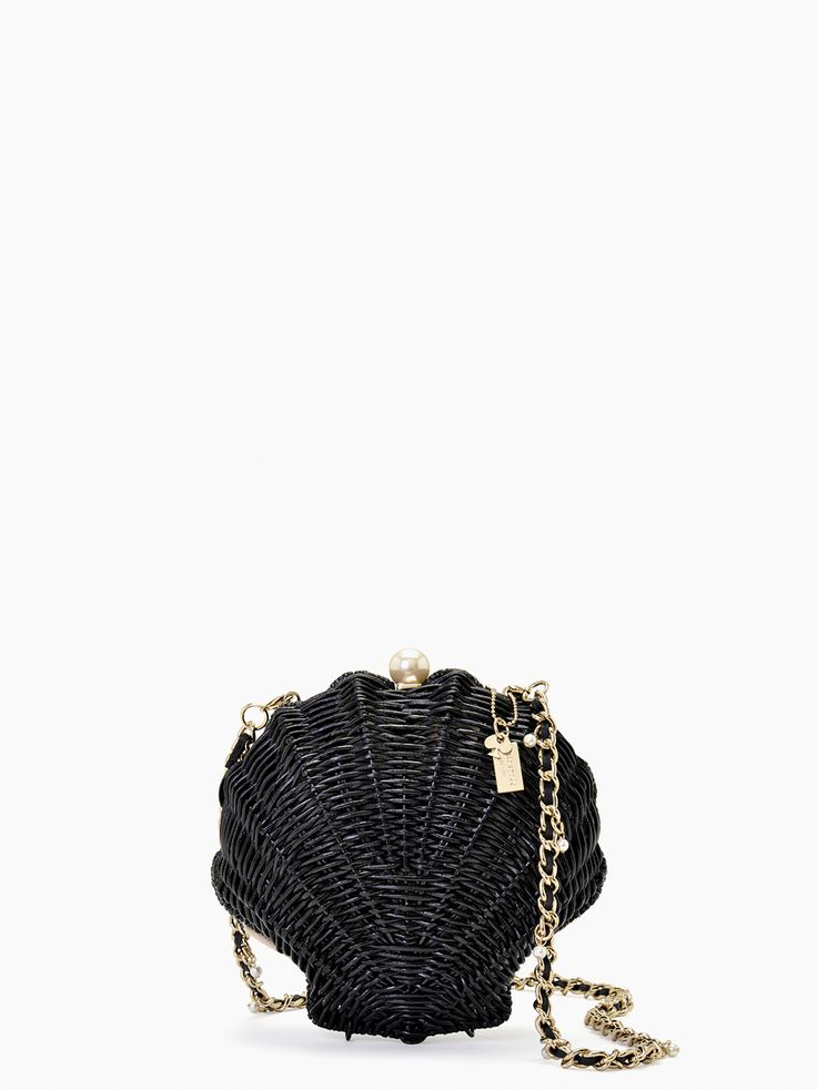 kate spade new york / splash out wicker clam shell
