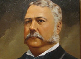 """President Chester Alan Arthur was known as a sharp dresser and a """"night owl."""" Not only was Arthur a very fashion-conscious dresser (he owned over 80 pairs of pants) but he often took late night strolls around D.C. with friends, not returning home until 3 or 4 in the morning."""
