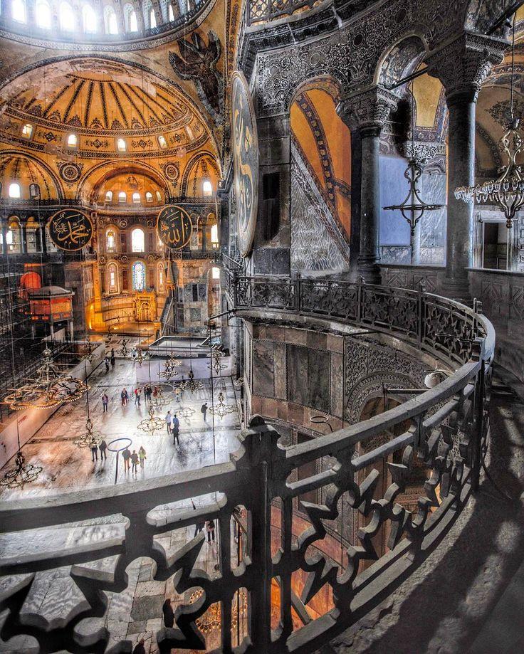 Ayasofya-İstanbul // Photo by olcayaytar  #hagiasophia #istanbul