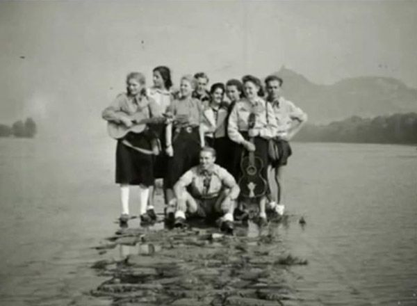 The Edelweiss Pirates...were an anti-Nazi youth and resistance group who often clashed with Hitler Youth and the Gestapo.  Many were executed by the Gestapo.