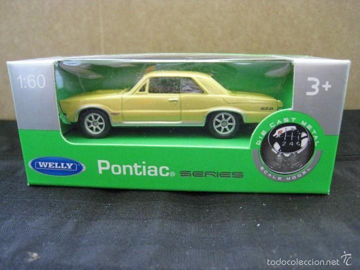 PONTIAC GTO - WELLY NEX - COCHE MINIATURA - ESCALA 1:60. (Juguetes - Coches a Escala Otras Escalas )