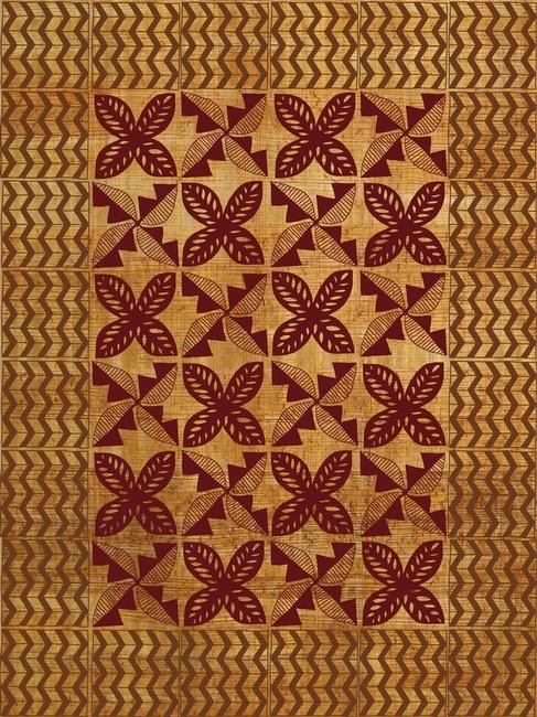 Traditional Kapa ~ Hawaii