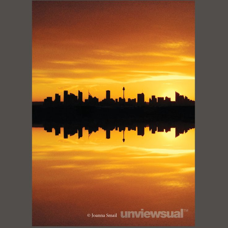 I was at Dudley Page Reserve waiting for the International Fleet Review fireworks. The bright orange sunset created a pure black silhouette. We turned the image into a reflection to add some extra unviewsualness. 7.30pm, 5 October 2013, from Dover Heights ©Joanna Smail