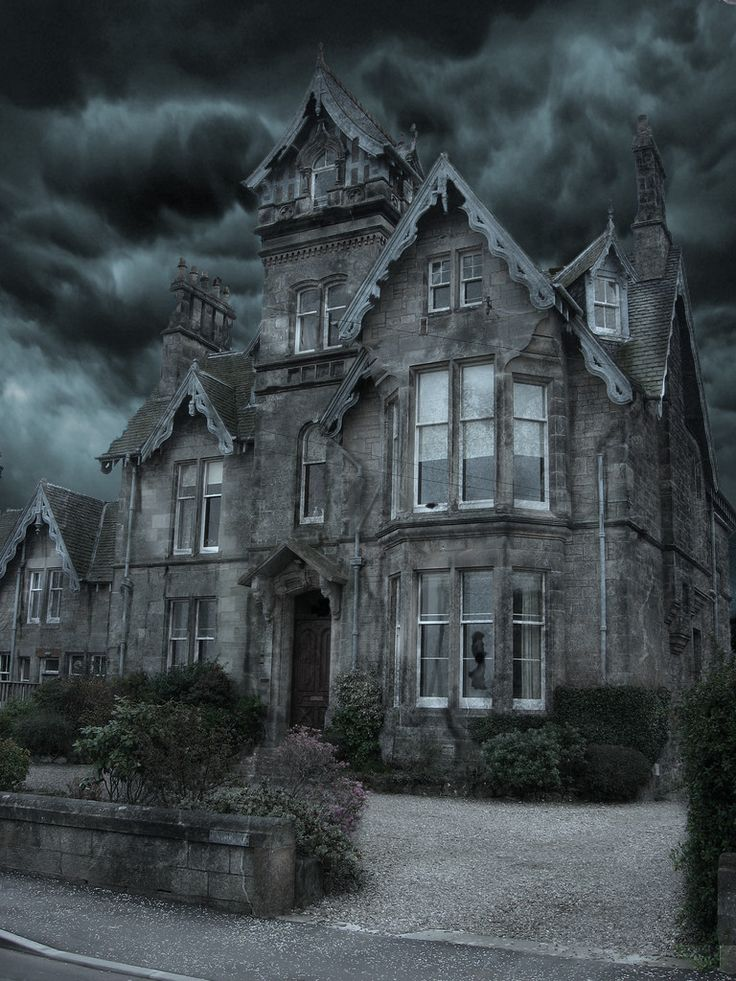 My lottery house!!!  Gonna let my hair grow long and gray, wear black dresses, cackle and blast creepy music into the hood!!!