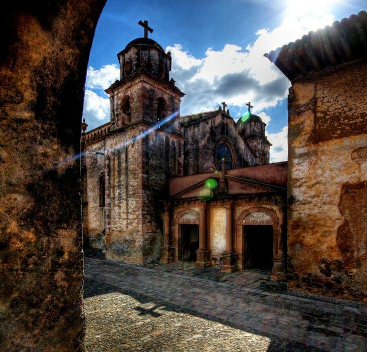 El Sagrario Church Patzcuaro Mexico