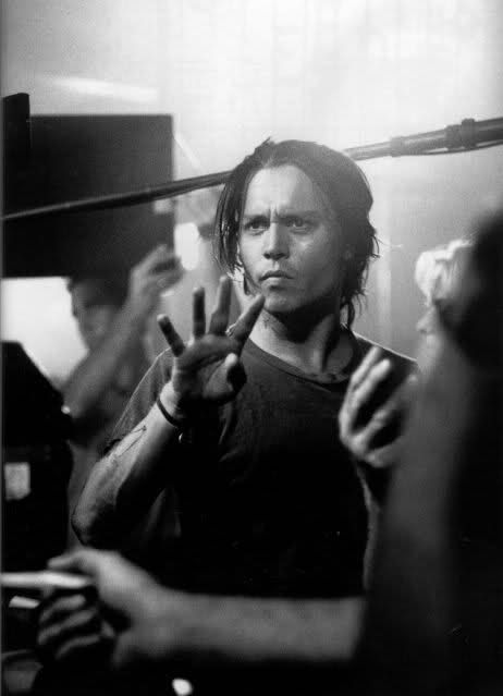 Johnny Depp directing The Brave.