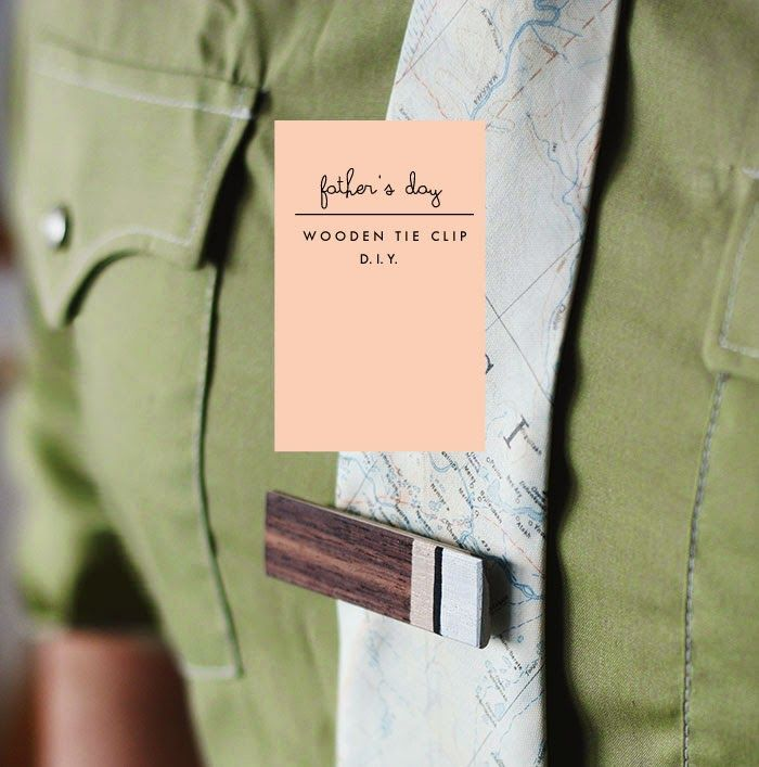 Poppytalk: DIY | Wooden Tie Clip for Father's Day- these would be snazzy with Lumiere paints and a hand painted silk tie http://www.dharmatrading.com/clothing/men/silk-neck-ties.html