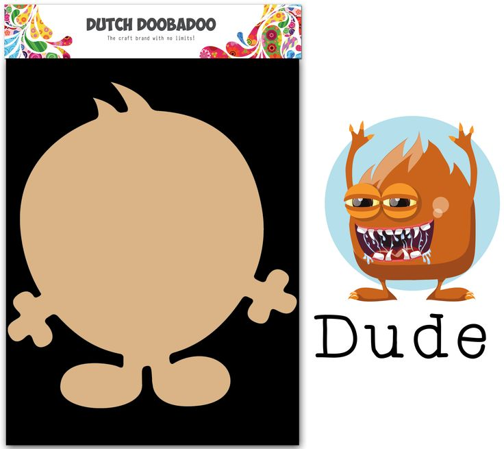 460.440.024 Dutch Doobadoo MDF Wackey Brothers Dude