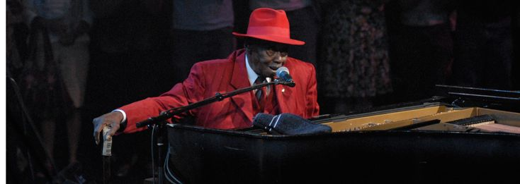 Pinetop Perkins © KLRU photo by Scott Newton ~ from Austin City Limits website