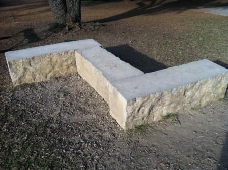 Lueders Limestone Landscaping Blocks And Benches Park