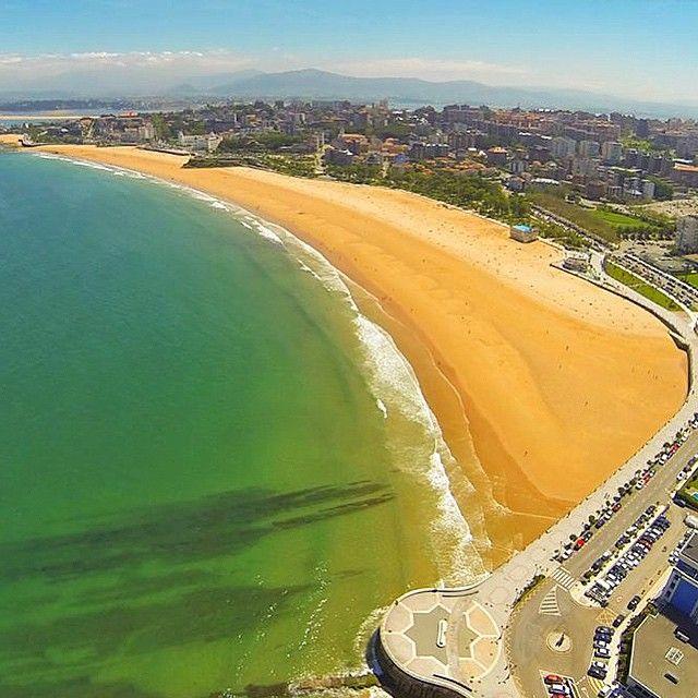 Playa de El Sardinero #Santander #Cantabria Fotografía de Fernando Moro
