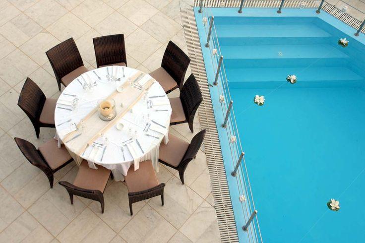 Αίθουσα Δεξιώσεων με πισίνα και θέα Θάλασσα. Μόνο στο Ksktimata